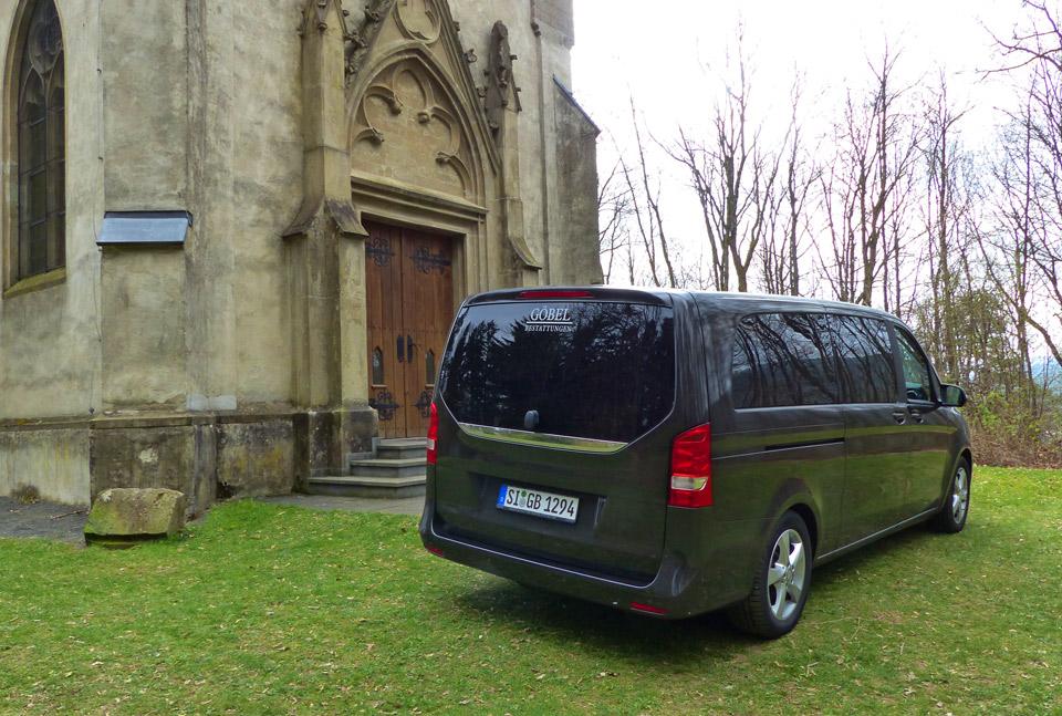 Göbel Bestattungen Netphen Mercedes Vito